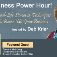 The Business Power Hour Tamara Kleinberg