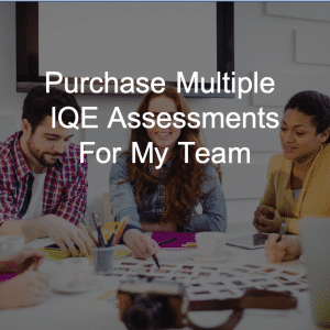 Group IQE assessments for team innovation