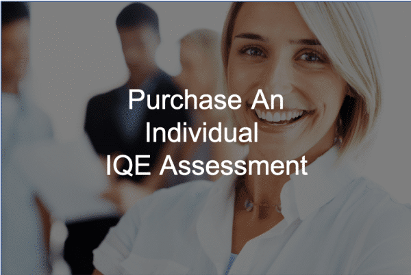 Individual IQE Purchase Innovation
