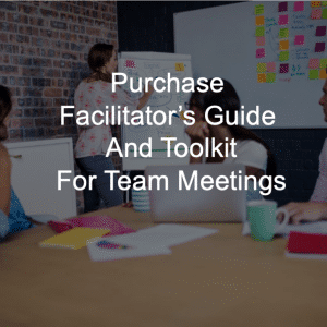 facilitators guide for team meetings