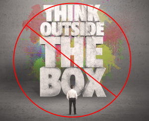 Stop saying think outside the box innovation